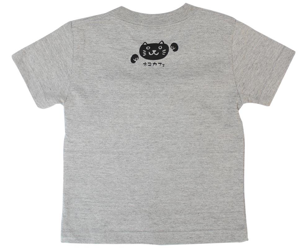 ぷくぷくTシャツ/ねこカフェ/後