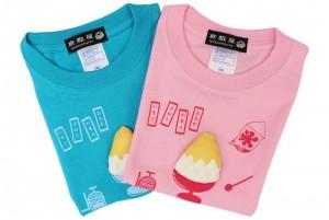 かき氷Tシャツ/カラー