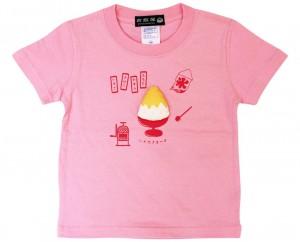 かき氷Tシャツ/前