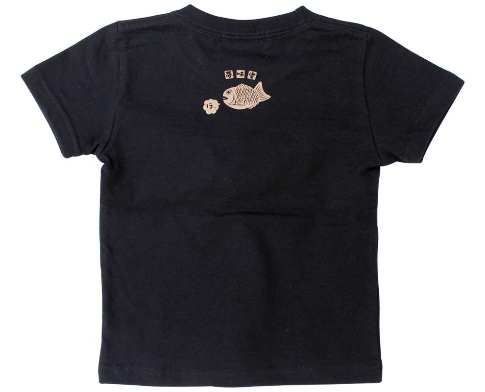 たいやきTシャツ/後