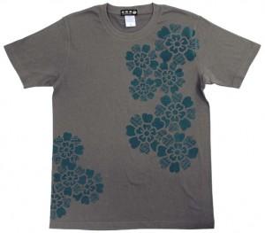 紗綾形桜Tシャツ