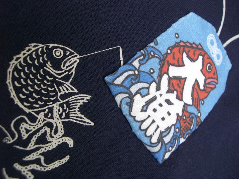 大漁守Tシャツ/お守り