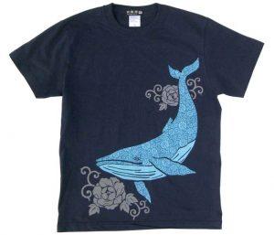 鯨Tシャツ